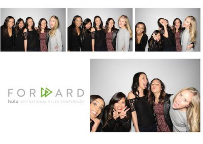 hulu company party photo booth sample