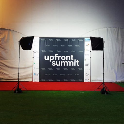 Custom background step and repeat los angeles